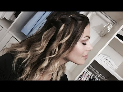 5 Easy Hairstyles/5 Coiffures Faciles