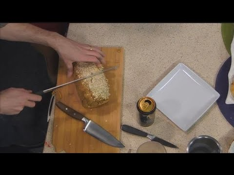 Learn to make brown soda bread with oats