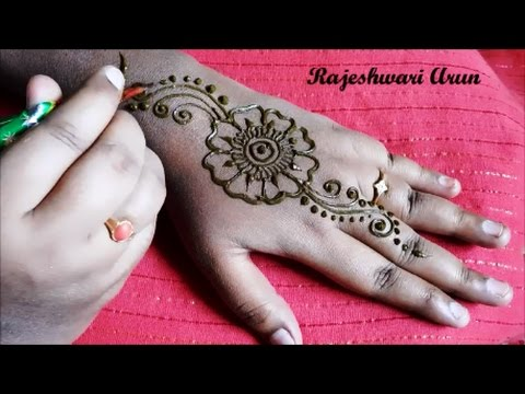 Simple Easy Henna Mehndi Designs For Hands Mehndi Designs For