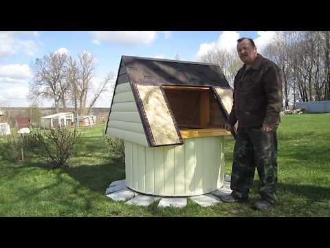 Полный обзор домика для колодца, не требующего ухода