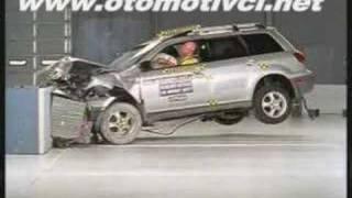 Otomotivci.Net - Mitsubishi Outlander Çarpışma Testi