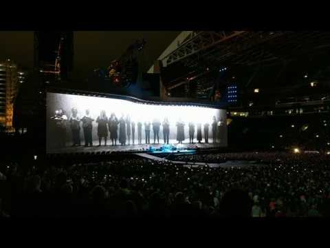 U2 Joshua Tree - Seattle - Mothers of the Disappeared