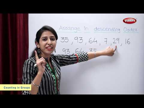 Arrange the Numbers in their Descending Order | Maths For Class 2 | Maths Basics For CBSE Children