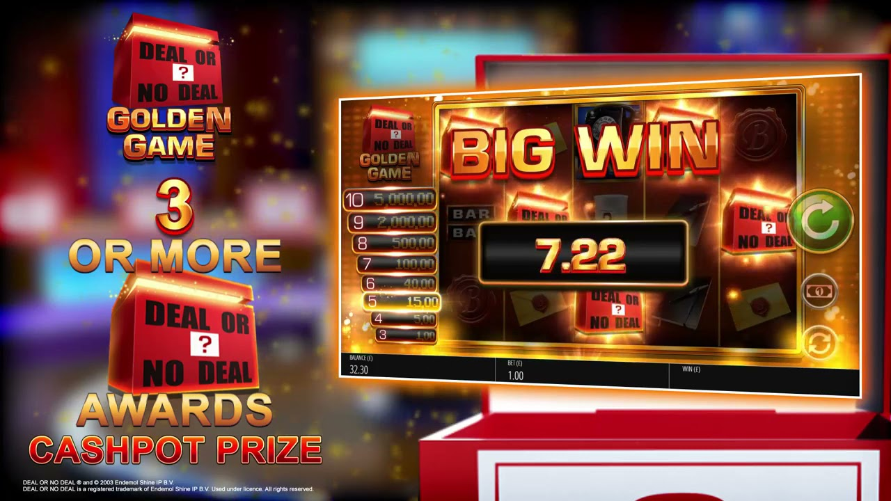 Deal or No Deal: Golden Game Slot Play Free ▷ RTP 95.5% & High Volatility video preview