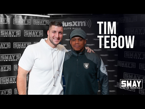 Tim Tebow Speaks on Avoiding Thots + Raps Live on Sway in the Morning