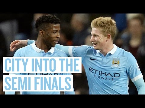 STUNNING DE BRUYNE FREEKICK | City 4-1 Hull | Highlights