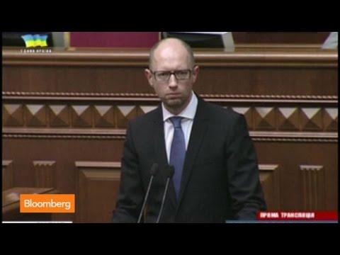 Ukraine in Flux as Prime Minister Yatsenyuk Resigns