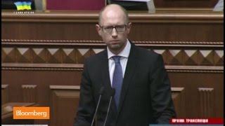 Ukraine in Flux as Prime Minister Yatsenyuk Resigns