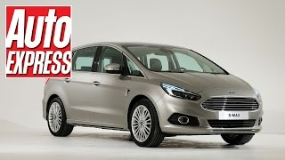 Ford S-MAX 2014 revealed: exclusive video(We take a closer look at the new Ford S-MAX 2014. Subscribe to our YouTube channel http://bit.ly/11Ad1j1 Subscribe to the mag ..., 2014-09-15T11:25:52.000Z)