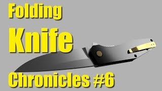 Pocket Clip Shaping Die - Folding Knife Chronicles #6