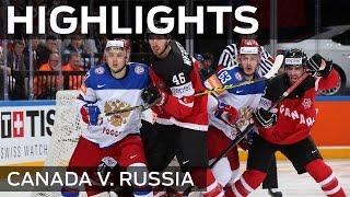 Canada - Russia | Highlights | #IIHFWorlds 2015