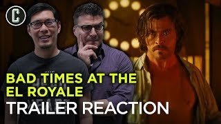 Bad Times at the El Royale Trailer Reaction & Review