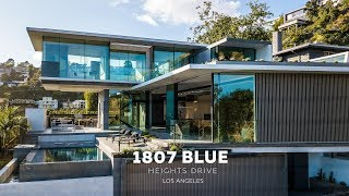New Modern House | Blue Heights Dr | Los Angeles (4k)