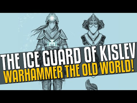 Warhammer the Old World UPDATE: Ice Guard of Kislev! |