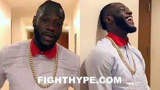 DEONTAY WILDER ATTENDS LUIS ORTIZ FIGHT AND DISSES HIM; PUTS