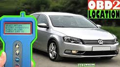 VW Passat OBD2 Diagnostic Port Location