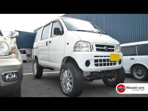 Roadside Oddity: A big-wheeled Daihatsu Hijet Van