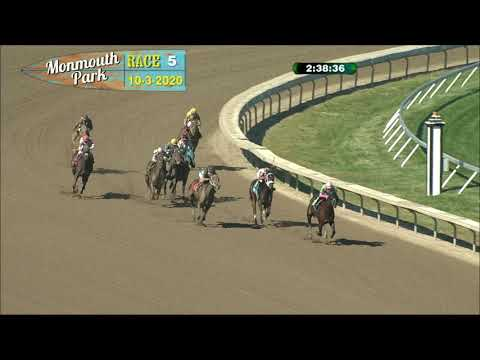 video thumbnail for MONMOUTH PARK 10-3-20 RACE 5