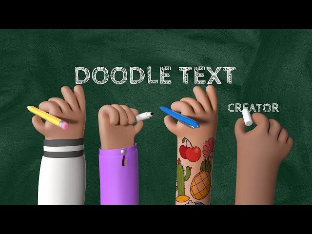 CreateStudio Doodle Video Maker Whiteboard Text Animation - September Update