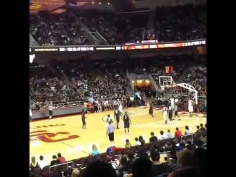 Chris Brown Trey Songz The Game Charity Basketball