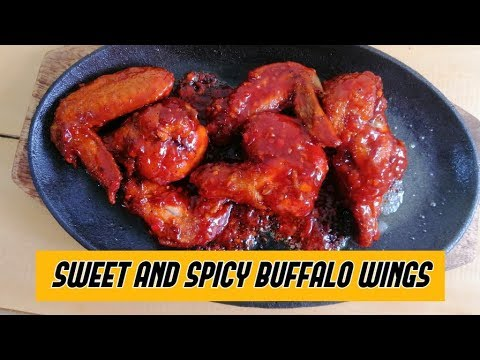 SWEET AND SPICY BUFFALO WINGS | Lutong Bahay
