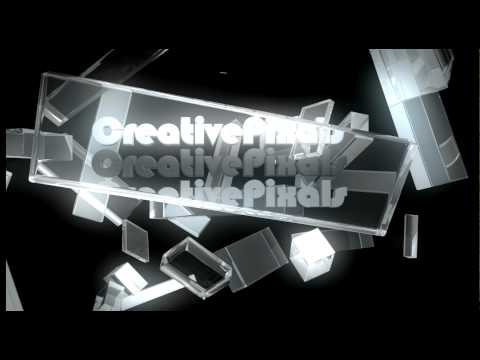 Cinema 4D Glass Text