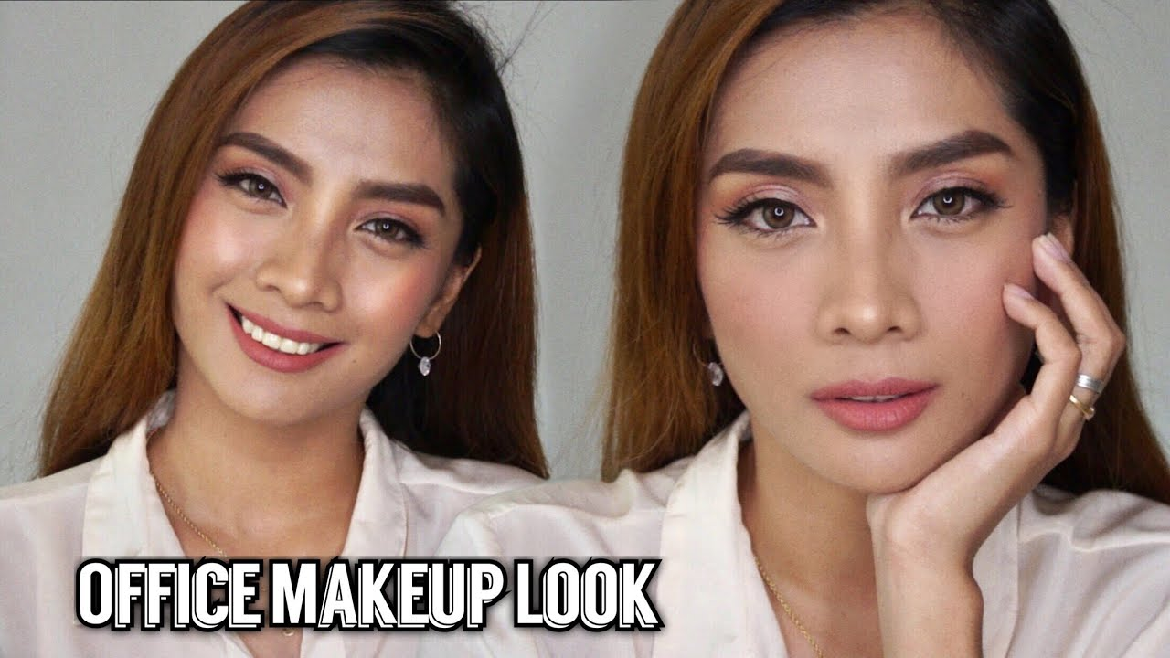 EVERYDAY OFFICE WORK MAKEUP LOOK | Philippines 7