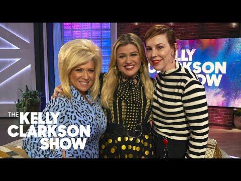 Sylvia Chacon - Long Island Medium Gives Kelly Clarkson & Her Stylist a Psychic Reading