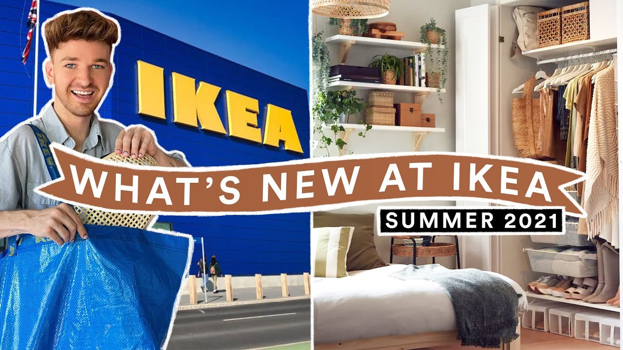IKEA SHOP WITH ME - What's New At IKEA SUMMER 2021 (Furniture + Home Decor)