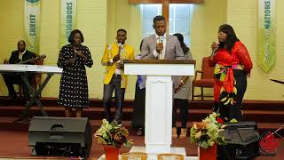 Ev Euloge Ekissi invited in New Alliance Intl Church (Atlanta USA Juin 2018)