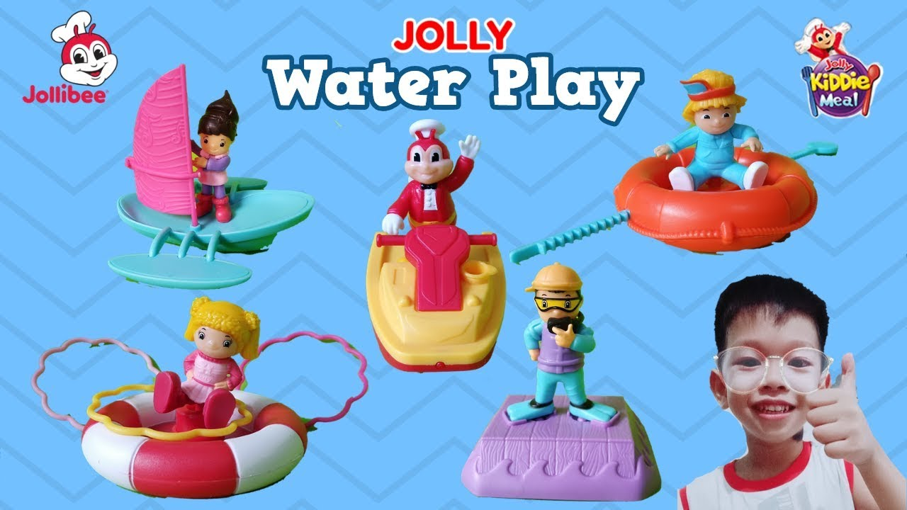 May 2019 Jolly Water Play Jollibee Kiddie Meal Complete