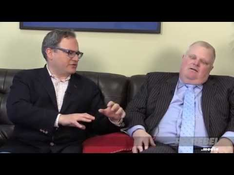 Ezra Levant's exclusive interview with former Toronto Mayor Rob Ford