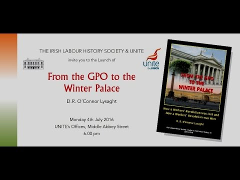 """""""From The GPO To The  Winter Palace: by Rayner O'Connor Lysaght."""