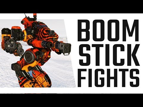 Boom Stick Fights! An AC20 Bushwacker - Mechwarrior Online The Daily Dose #472