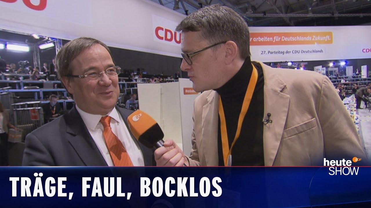 Nur kritiklose Abnicker! Ralf Kabelka auf dem CDU-Parteitag | heute-show vom 12.12.2014
