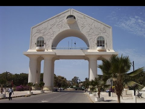 Banjul in Gambia, capital, vacation destination and operator business market