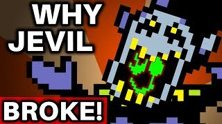 Jevil's Insanity, EXPLAINED! (Deltarune / Undertale Theory)