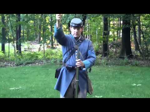 Loading & Firing a Civil War Musket