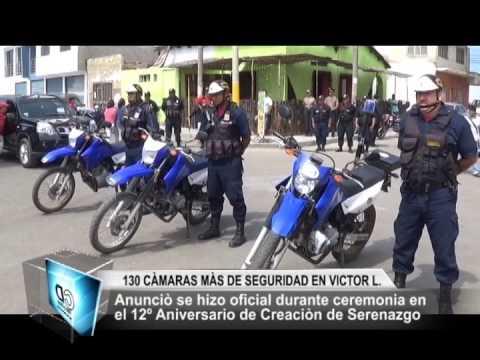 130 CAMARAS DE SEGURIDAD EN VICTOR LARCO