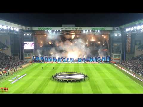 F.C. København - Atlético de Madrid TIFO