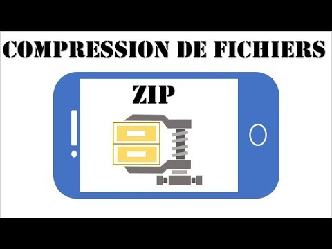 Free Zip App | tutorial to compress or zip files with Winzip Android