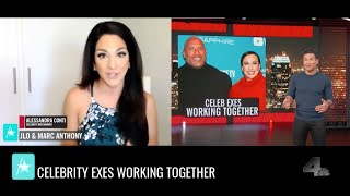 Celebrity Exes Working Together