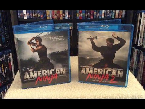 American Ninja / American Ninja 2 Blu Ray Unboxing & Review