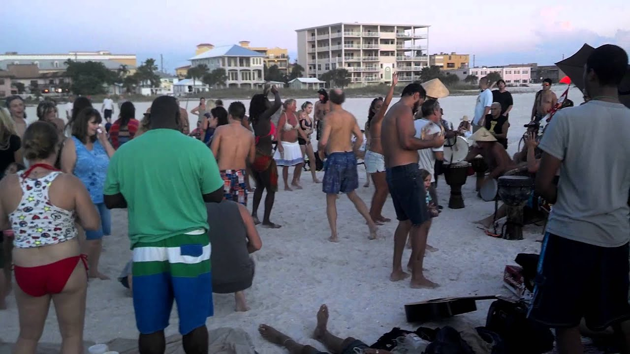 Drum Circle Treasure Island