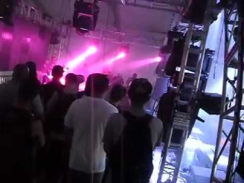 Skrillex and 12th planet Borgore zeds dead back stage ULTRA music festival day 2 DJ Special K 2012