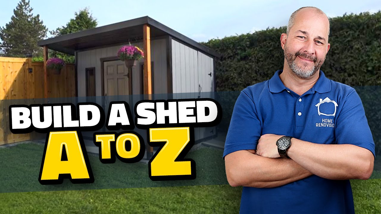 Download DIY How to Build a Shed A to Z