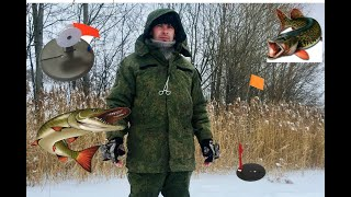 Приключения на рыбалке Щука Жерлицы