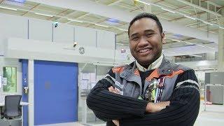 Rajemisa, Technicien de contrôle non destructif