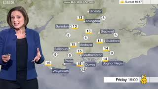 Sarah Farmer - South Today weather - (15th November 2018) - HD