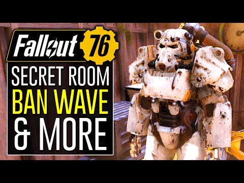 FALLOUT 76 - Players Banned for Using Secret Room & Unreleased Items! thumbnail
